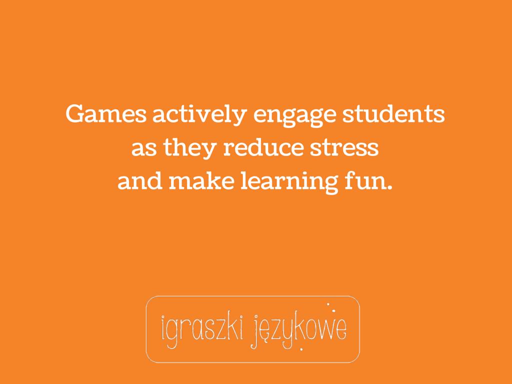ciekawostki o grach w nauczaniu