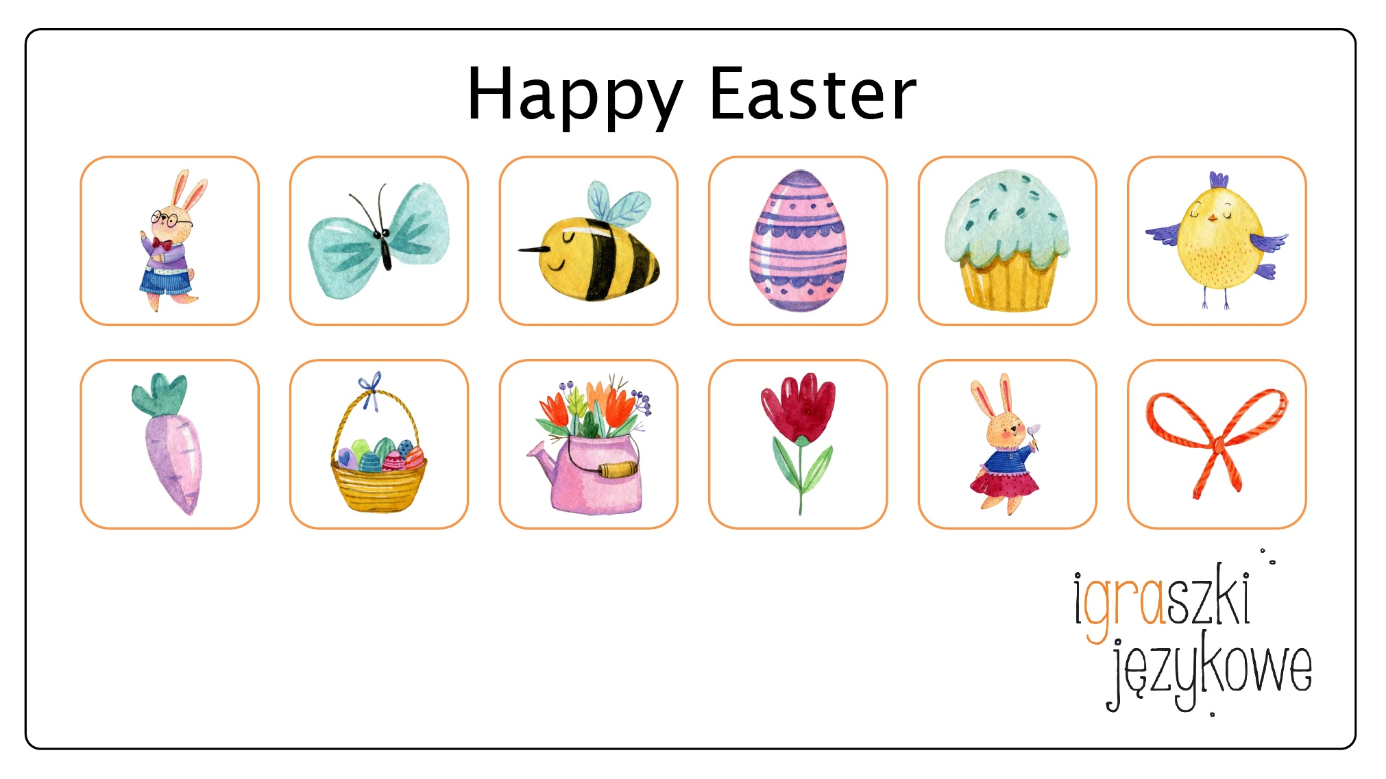Easter worsheets_flashcards