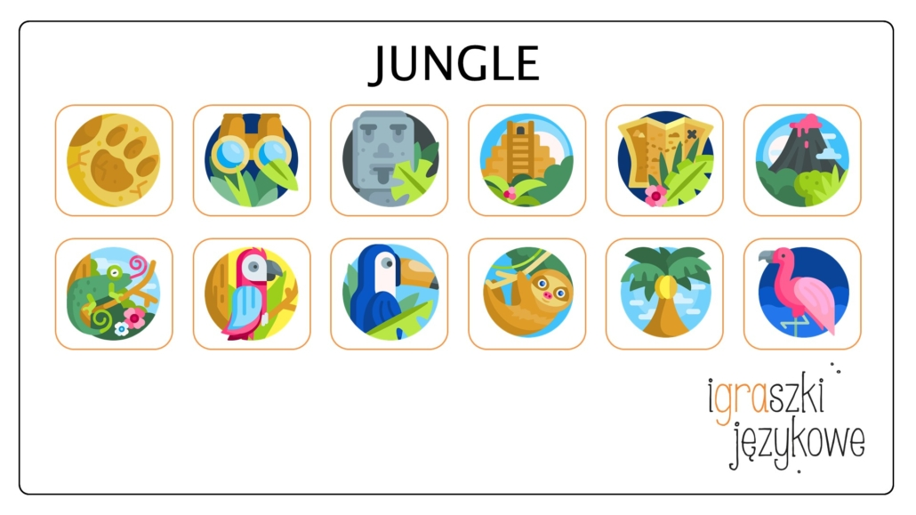 Jungle Flashcards
