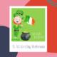 St. Patrick's Day Worksheets gry dla dzieci na Zoom