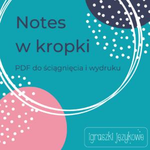 Notes do wydrukowania PDF