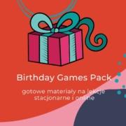 Birthday Games Pack urodzinowe materiały tematyczne dla nauczycieli