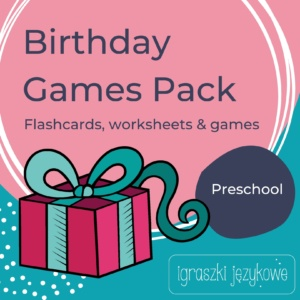 Birthday Games Pack dla przedszkolaków